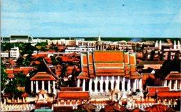 Thailand Bangkok Scenery At Wat Rajanadda-Ram - Thailand