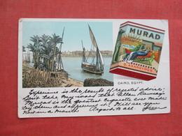Murad Turkish Cigarettes   Cairo Egypt -  Ref 3431 - Advertising