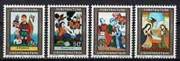 Liechtenstein 1974 // Mi. 616/619 ** - Liechtenstein