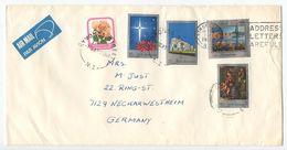 New Zealand 1983 Airmail Cover Symonds Street To Neckarwestheim, Germany - New Zealand