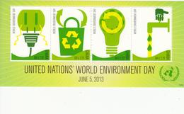 2013 Ghana  Environment Day Green Miniature Sheet MNH - Ghana (1957-...)