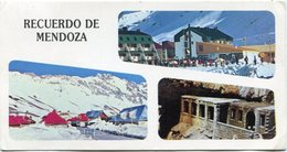 MENDOZA - COMPLEJO LOS PENITENTES, PUENTE DEL INCA, LAS CUEVAS. ARGENTINA TARJETA POSTAL CIRCULADO CIRCA 1970 -LILHU - Argentina
