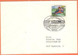 GERMANIA - GERMANY - Deutschland - ALLEMAGNE - 1976 - 75 Jahre Wuppertaler Schwebebahn - FDC - Bonn - Viaggiata Da Bonn - [7] Repubblica Federale