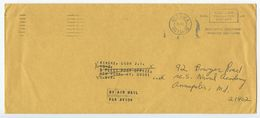 Canada 1970 Official - Postage Paid Cover Ottawa, Ontario PO Dept. To U.S. Naval Academy - 1952-.... Reign Of Elizabeth II