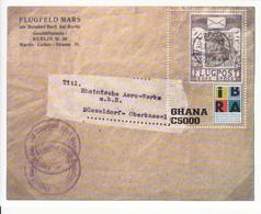 1999 Ghana   Philately Germany Postal History Souvenir Sheet  MNH - Ghana (1957-...)