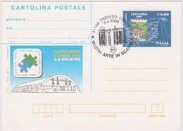 2007-Cartolina Postale Commemorativa ALPE ADRIA - Treviso