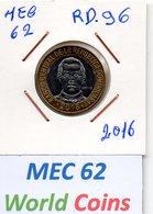 MEC 62 - / RP. DOMINICAINE / 5 PESOS  2016 / - RD.96 - Dominicaine