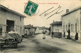Aulnay L'aître * La Grande Rue * Le Café Denise - France