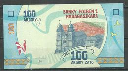 Madagascar Nouveau Billet De 100 Ariary Neuf ** - Madagaskar