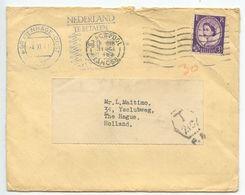 Great Britain 1963 Cover Blackpool To Netherlands, Postage Due Meter - 1952-.... (Elizabeth II)