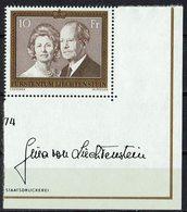 Liechtenstein 1974 // Mi. 614 ** - Ungebraucht