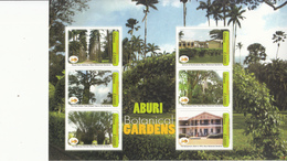 2007 Ghana   Trees Arbres Botanical Gardens  Miniature Sheet Of 6 MNH - Ghana (1957-...)