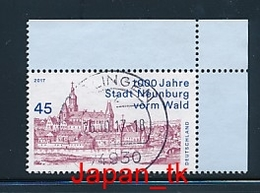 GERMANY Mi.Nr. 3290 1000 Jahre Stadt Neunburg Vorm Wald- Used - Oblitérés