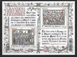France 2013 Bloc Feuillet N° F4828  Neuf Histoire De France à La Faciale - Blocs & Feuillets