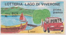 1994 - Biglietto Lotteria Viverone - Altre Collezioni