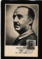 Spain-General SS. Franco Ml. HSP. Glor. 1910 - Antique Postcard - Spagna