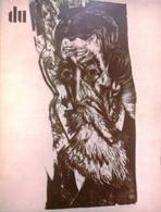 CA114 Du - Europäische Kunstzeitschrift, Nr. 420, Februar 1976, Neuwertig - Revistas & Periódicos