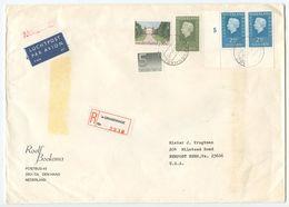 Netherlands 1981 Registered Airmail Cover S'Gravenage To Newport News VA - Period 1980-... (Beatrix)