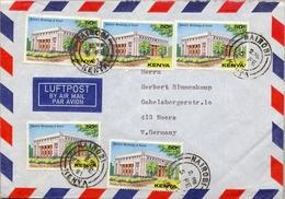 1981 KENYA / KENIA , SOBRE CIRCULADO , NAIROBI - MOERS , HISTORIC BUILDINGS OF KENYA , ARQUITECTURA - Kenia (1963-...)