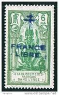 INDE ßurcharge »Croix De Lorraine Et FRANCE LIBRE»  Maury  203 II  ** - Neufs