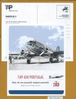 Postal De Porte Pago Avião Dakota DC-3. Postage Postage Paid With Dakota DC-3 Airplane. Porto Bezahlt Mit Dakota DC-3 Fl - Aerei