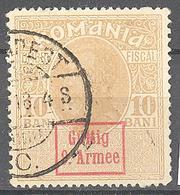 Roumanie Occupation Allemande 9° Armée: Yvert N° 7°;  Cote 2.00€ ° - Besetzungen 1914-18