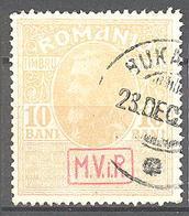 Roumanie Occupation Allemande 9° Armée: Yvert N° 22°;  Cote 10.00€ ° - Besetzungen 1914-18