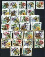 Fujeira 1967 Mi # 159 B - 185 B BUTTERFLY FAUNA Stamp Set MNH - Fujeira