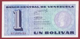 Venezuela 1 Bolivar Du 04/10/1989 UNC (NEUF) - Venezuela