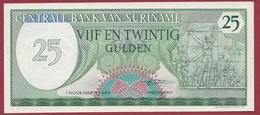 Surinam -25 Gulden Du 01/11/1965 -UNC (NEUF) - Surinam