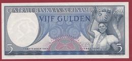 Surinam -5 Gulden Du 01/09/1961 -UNC (NEUF) - Surinam