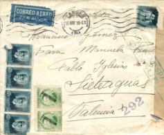 MARRUECOS. Carta De Tánger A Valencia, El 20/5/38. Marca De Censura.. - Marruecos Español