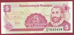 Nicaragua -5 Centavos 1991 -UNC (NEUF) - Nicaragua