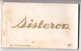 Carte Postale  : Carnet Complet De 15 Cartes De Sisteron (04) TBE      éditeur La Cigogne - Sisteron