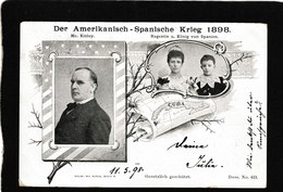 Germany-Der Amerikanisch Spanische Krieg 1898 - Antique Postcard - Germany