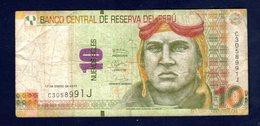 PERU 10 Soles P-New 10.3.2016 (2017) - Perù