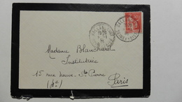 France > Marcophilie (Lettres) > Oblitération Manuelle - Marcophilie (Lettres)
