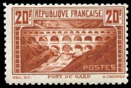 FRANCIA. * 262. Pont Du Gard. Bonito. Cat. 325 €. - Francia