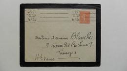 France > Marcophilie (Lettres) > Oblitération Mécanique A Deus Cachets - Marcophilie (Lettres)