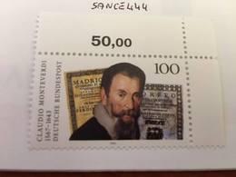 Germany C. Monteverdi Composer 1993 Mnh - [7] Federal Republic