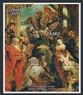 ZAIRE. 1977. ART, RUBENS, RARE BLOCK. MNH OG. Mi.= 140 EUR ! - Rubens