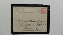 France > Marcophilie (Lettres) > Oblitération Mécanique A Deux Cachets En 1927 - Marcophilie (Lettres)