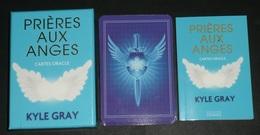 Rare Jeu De Cartes, Cartomancie, Tarot Divinatoire, Oracle, Avec Livret Explicatif Tarots PRIERES AUX ANGES Kyle Gray - Juegos De Sociedad