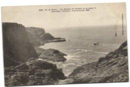 Ile De Groix - Les Rochers Du Terrible Où Se Perdit Le Trois Mâts Coronna Le 14 Novembre 1896 - Groix