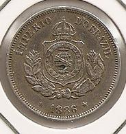 BRASIL BRAZIL BRESIL 50 REIS 1886 RARE MTG 590 000 46 - Brazil