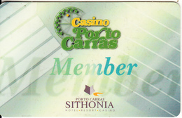 GREECE - Casino Porto Carras, Casino Member Card, Used - Casino Cards