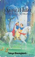 Télécarte Japon / 110-182033 - DISNEY - BLANCHE NEIGE PRINCE CHEVAL - SNOWWHITE Horse  Japan Phonecard  Conte Fairy Tale - Disney