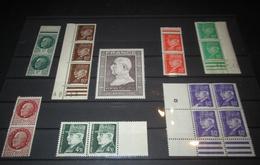 France 1941/42/44 Neuf** N° 518, 517, 509, 510, 513, 512, 523, 606 Lot De Pétain - Full Sheets