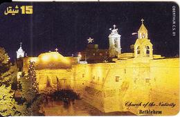 PALESTINE(chip) - Bethlehem, 01/00, Used - Palestina