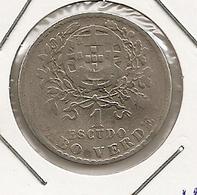 CABO VERDE CAP VERT CAPE VERDE  1$ ESCUDO 1930 RARE MTG 50 000 47 - Cap Verde